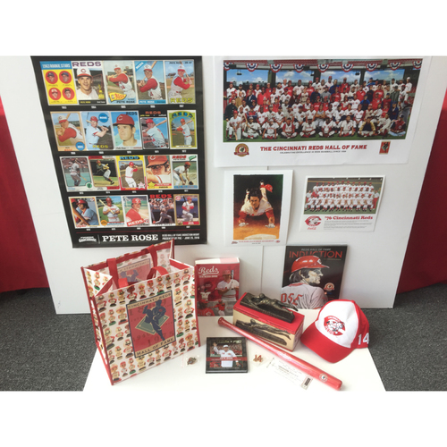 Photo of Pete Rose Gift Bag! - Includes 14 Collectibles