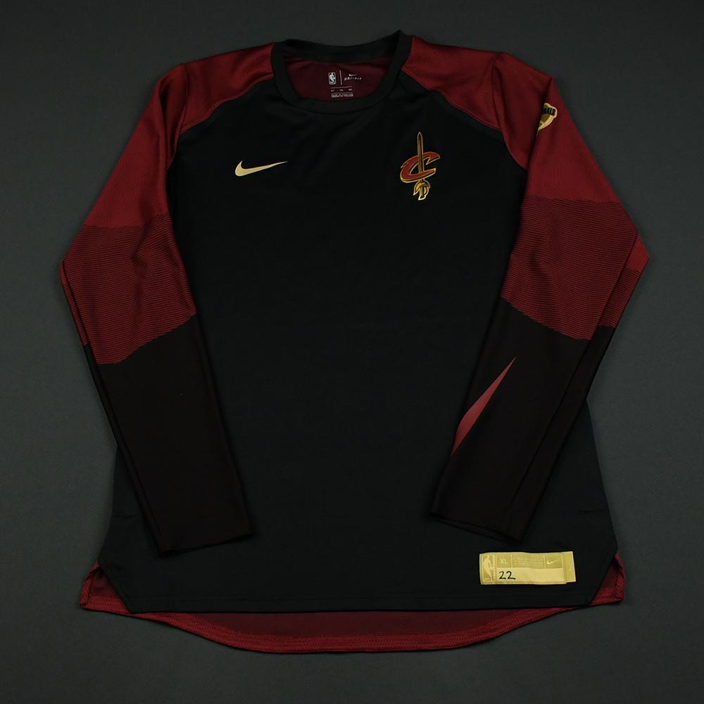 Larry Nance Jr. - Cleveland Cavaliers - 2018 NBA Finals - Game-Issued Shooting Shirt