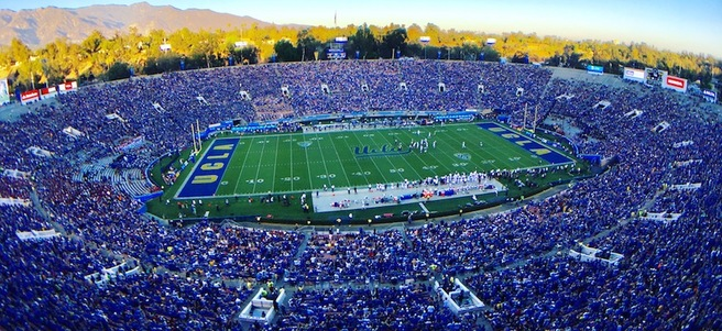 UCLA BRUINS FOOTBALL GAME: 11/17 UCLA VS. UNIVERSITY OF SOUTHERN CALIFORNIA (2 STA...