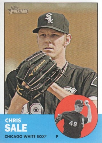Photo of 2012 Topps Heritage #35 Chris Sale