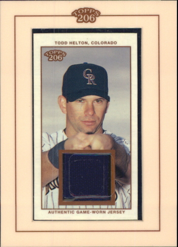 Photo of 2002 Topps 206 Relics #THE3 Todd Helton Uni E3