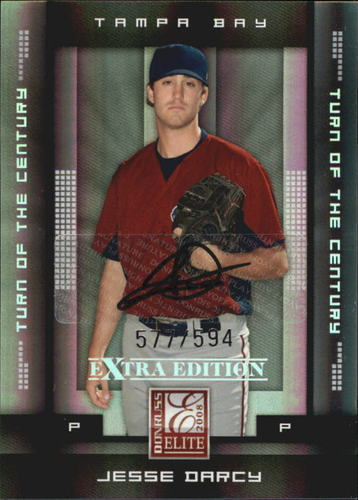 Photo of 2008 Donruss Elite Extra Edition Signature Turn of the Century #49 Jesse Darcy/594