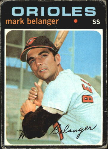 Photo of 1971 Topps #99 Mark Belanger