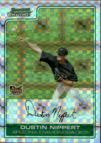 Photo of 2006 Bowman Chrome Draft X-Fractors #30 Dustin Nippert