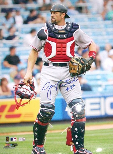 Photo of Jason Varitek Autographed 16x20