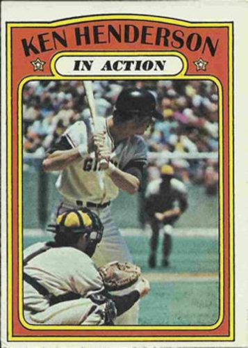 Photo of 1972 Topps #444 Ken Henderson IA