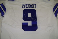 BCA - COWBOYS TONY ROMO GAME ISSUED AND SIGNED COWBOYS JERSEY (OCTOBER 2016)