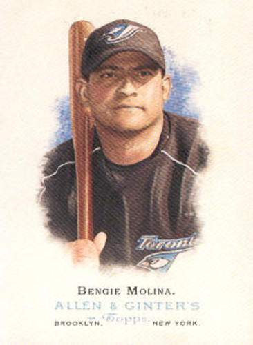 Photo of 2006 Topps Allen and Ginter #143 Bengie Molina