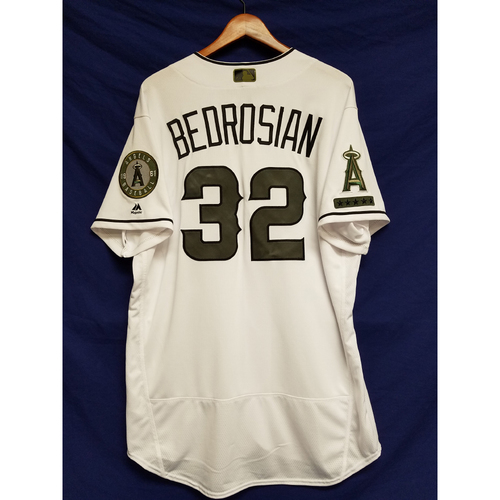 Photo of Cam Bedrosian 2017 Team-Issued Home Memorial Day Jersey