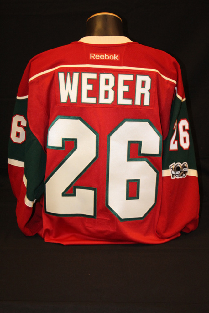 Authentic Red #26 Mike Weber Jersey