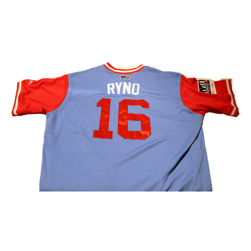 "Photo of Ryan ""Ryno"" Rua Texas Rangers Game-Used Players Weekend Jersey"
