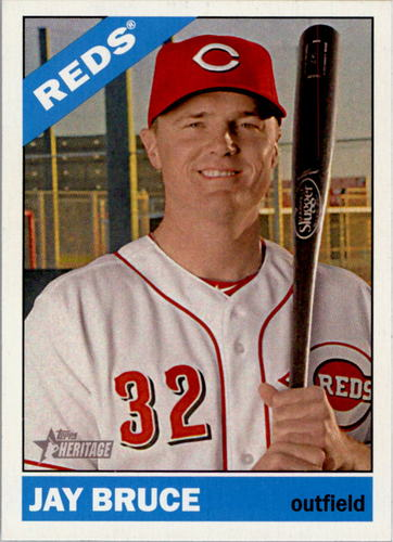 Photo of 2015 Topps Heritage #180 Jay Bruce