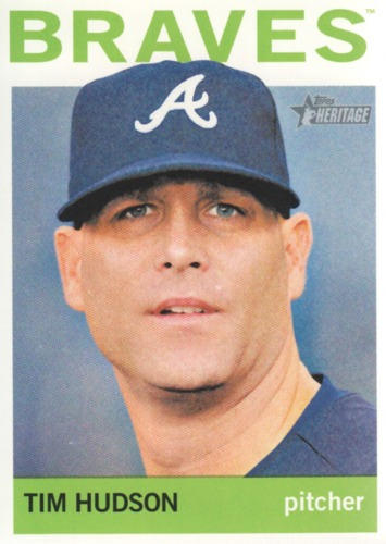 Photo of 2013 Topps Heritage #152 Tim Hudson