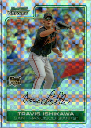 Photo of 2006 Bowman Chrome Draft X-Fractors #33 Travis Ishikawa