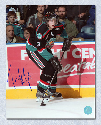 Tyler Myers Kelowna Rockets Autographed 8x10 Photo Whl-Chl Photo