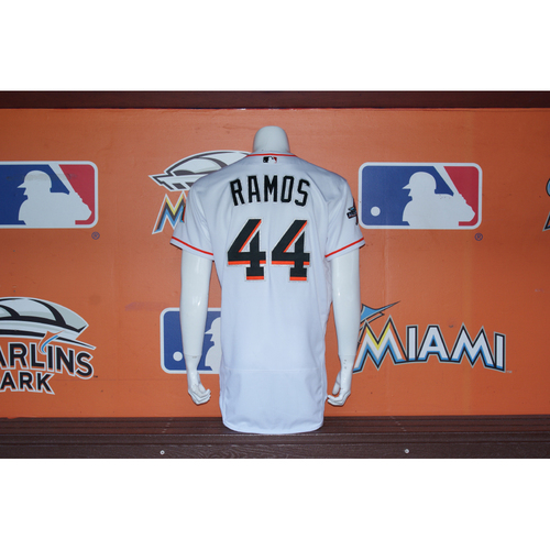 Photo of AJ Ramos Home Opener Jersey