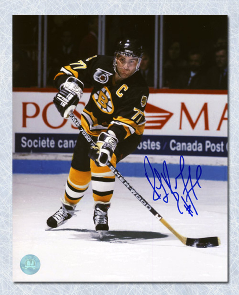 Ray Bourque Boston Bruins Autographed Playmaker Passing 8x10 Photo
