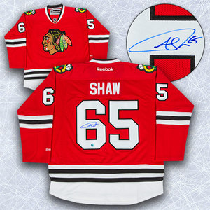 Andrew Shaw Chicago Blackhawks Autographed Reebok Premier Jersey