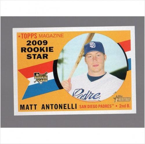 Photo of 2009 Topps Heritage #144 Matt Antonelli RC