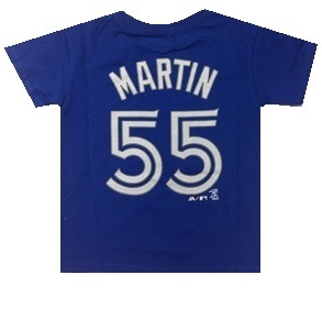 Toddler Russell Martin T-Shirt Royal by Majestic