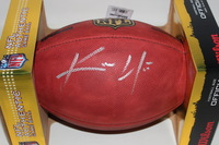 NFL - BEARS KEVIN WHITE SIGNED AUTHENTIC FOOTBALL