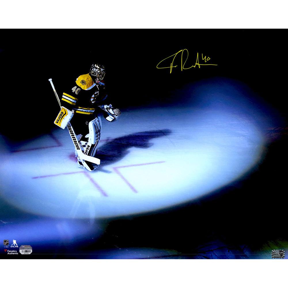 Tuukka Rask Boston Bruins Autographed 16
