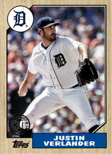 Photo of 2017 Topps '87 Topps #98 Justin Verlander