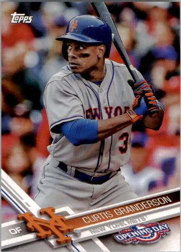 Photo of 2017 Topps Opening Day #118 Curtis Granderson