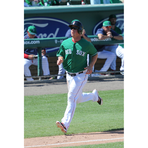 Photo of Red Sox Foundation St. Patrick's Day Jersey Auction - Matt Dominguez Game-Used & Autographed Jersey