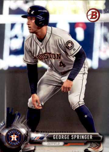 Photo of 2017 Bowman #87 George Springer