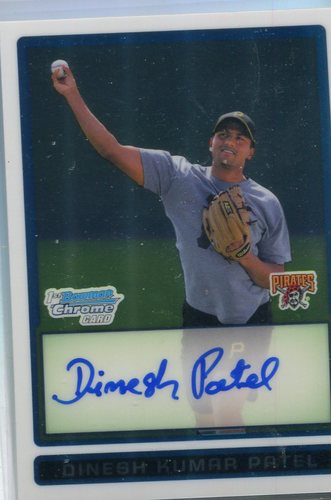 Photo of 2009 Bowman Chrome Prospects #BCP92 Dinesh Kumar Patel AU