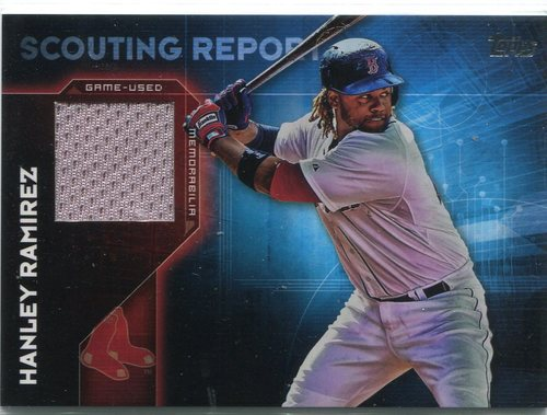 Photo of 2016 Topps Scouting Report Relics #SRRHR Hanley Ramirez