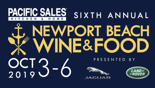 NEWPORT BEACH WINE & FOOD EXPERIENCE - PACKAGE 1 of 2