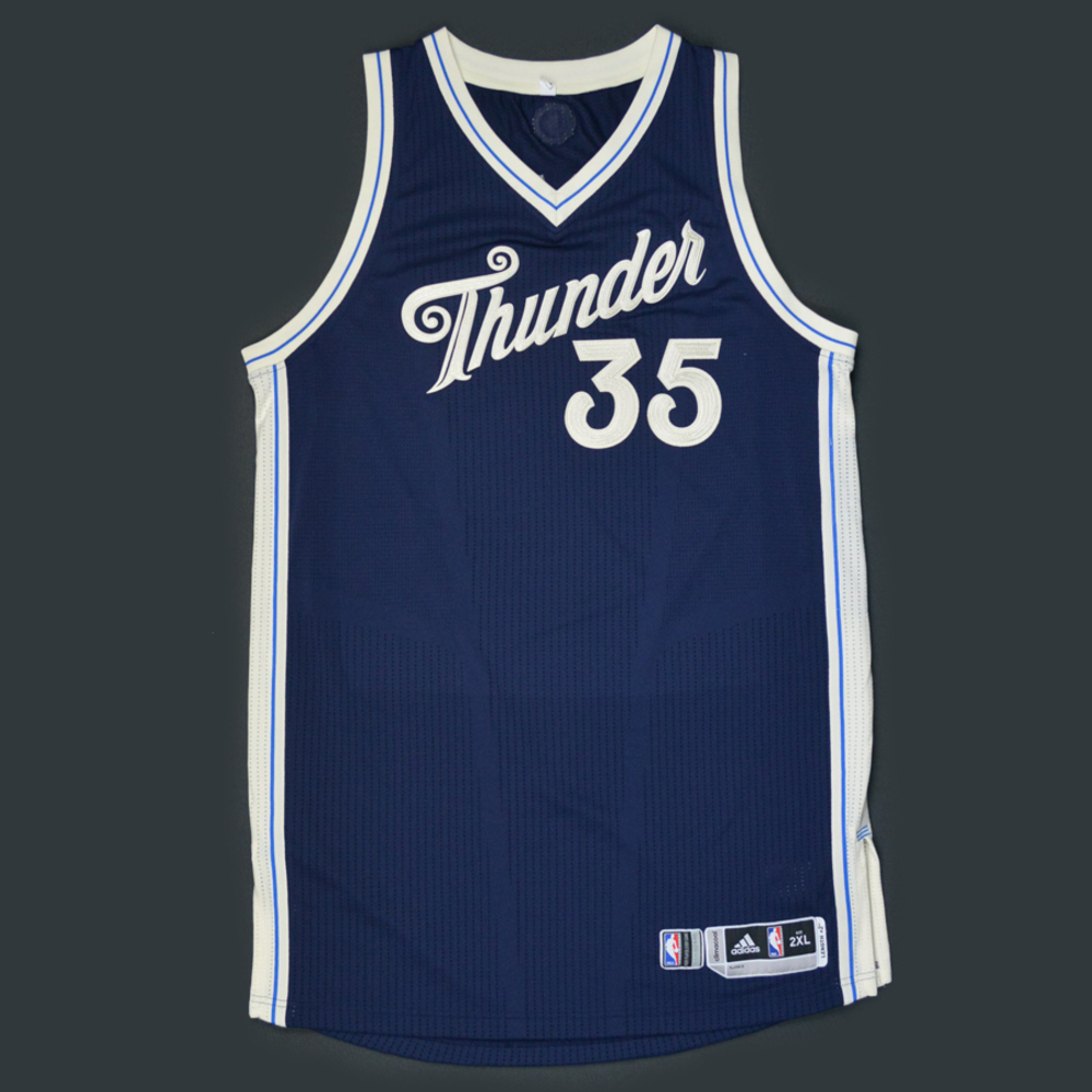 Kevin Durant - Oklahoma City Thunder - Game-Worn Jersey - NBA ...