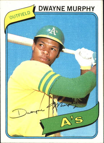 Photo of 1980 Topps #461 Dwayne Murphy