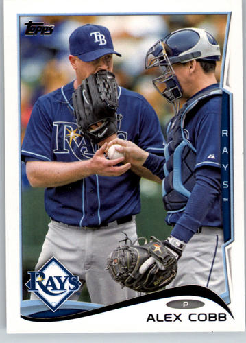 Photo of 2014 Topps #176 Alex Cobb