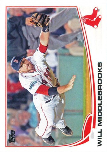 Photo of 2013 Topps #64 Will Middlebrooks