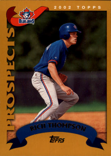 Photo of 2002 Topps #689 Rich Thompson PROS RC