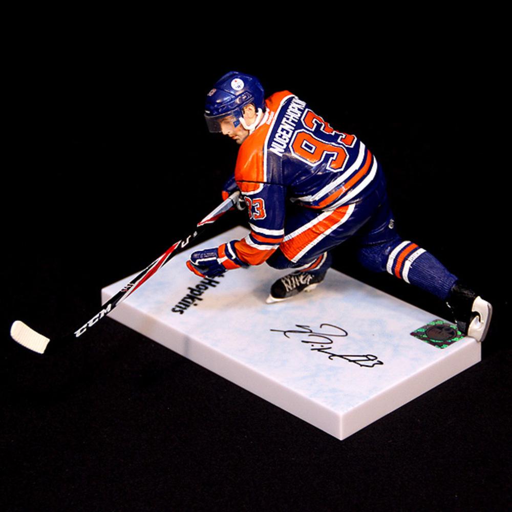 Nhl Series 31 Ryan Nugent Hopkins Action Figure: Ryan Nugent-Hopkins Autographed Edmonton Oilers McFarlane