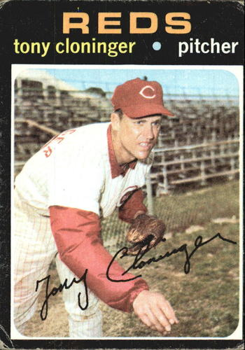 Photo of 1971 Topps #218 Tony Cloninger