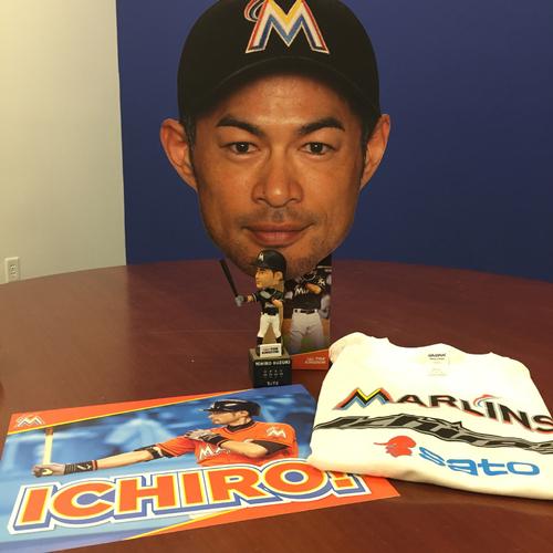 Photo of Marlins Charity Auction, Ichiro Suzuki Package