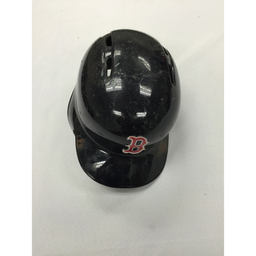 Photo of Brock Holt Game-Used 2015 Helmet