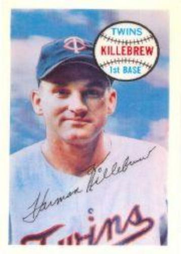 Photo of 1970 Kellogg's #61 Harmon Killebrew
