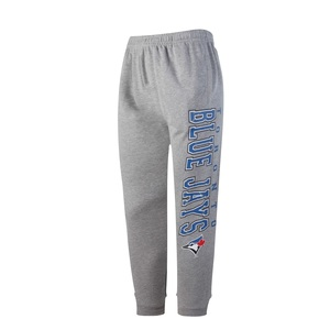 Toronto Blue Jays Men's Front Runner Cuffed Pants Grey by Concepts Sports