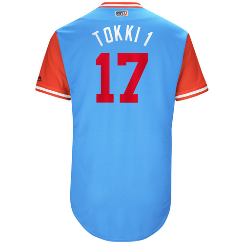 "Photo of Shin-Soo ""Tokki 1"" Choo Texas Rangers Game-Used Players Weekend Jersey"