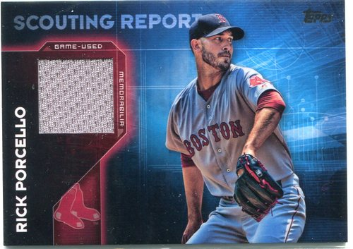 Photo of 2016 Topps Scouting Report Relics #SRRRP Rick Porcello