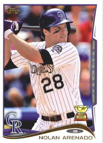 Photo of 2017 Topps Update All Rookie Cup #ARC39 Nolan Arenado