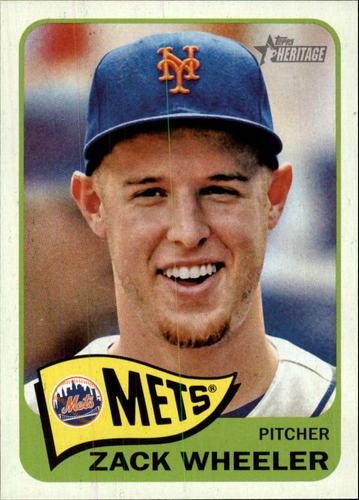 Photo of 2014 Topps Heritage #424 Zack Wheeler