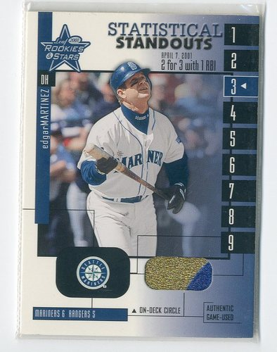 Photo of 2001 Leaf Rookies and Stars Statistical Standouts #SS21 Edgar Martinez