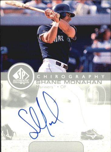 Photo of 1999 SP Authentic Chirography #SM Shane Monahan